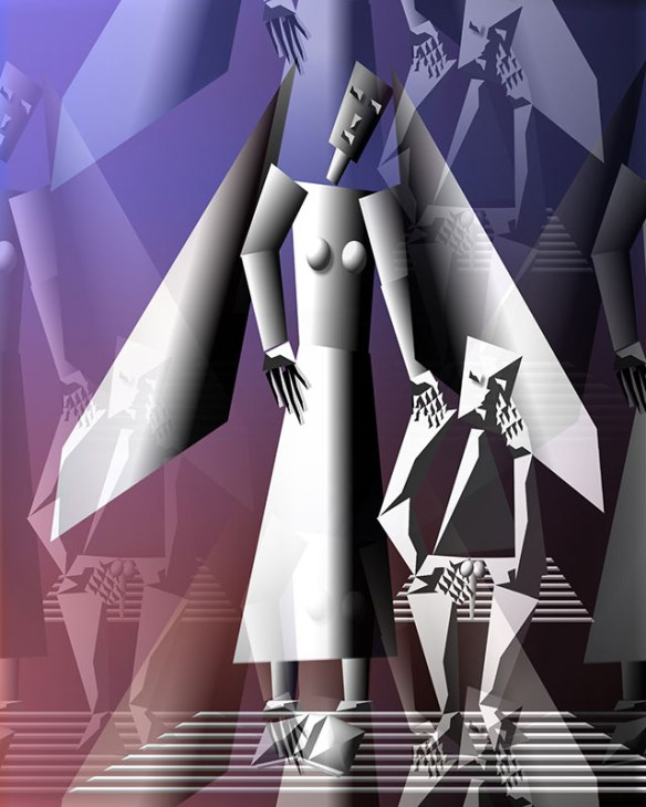 Alexandre-Nodopaka-figurative-cubism-374-angels